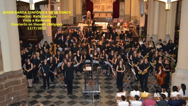 Año 2013 – Director titular de la Joven Banda Sinfónica de la Federación de Sociedades Musicales de la Comunidad Valenciana
