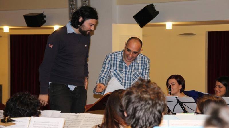 Curso de Dirección de Bandas en Macerata (Italia) – Noviembre 2013