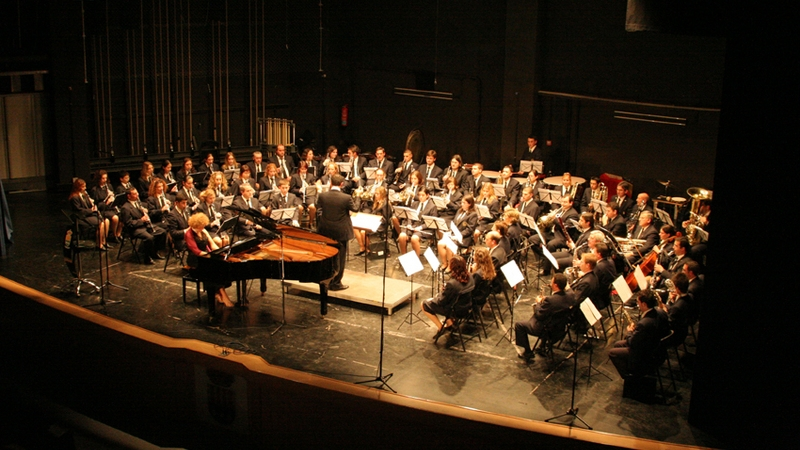 """Periodo 2003-2008 Director titular de la banda de la Sociedad Musical """"La Alianza"""" de Mutxamel"""