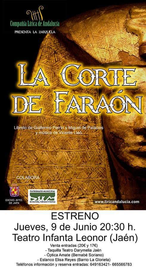 la corte del faraon cartel