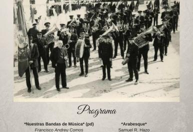 Concert de Primavera – SOCIETAT INSTRUCTIVA UNIÓ MUSICAL  DE TAVERNES DE LA VALLDIGNA – Notas al Programa