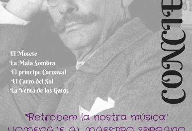 UNIÓN MUSICAL SANTA CECILIA DE ENGUERA – Concierto homenaje al maestro JOSÉ SERRANO