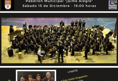 UNIÓN MUSICAL SANTA CECILIA DE ENGUERA  Concierto Santa Cecilia/Navidad 2018