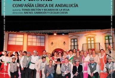 LA VERBENA DE LA PALOMA COMPAÑÍA LÍRICA DE ANDALUCÍA