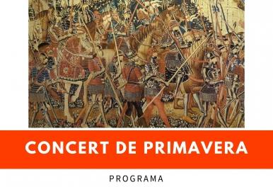 CONCERT DE PRIMAVERA Societat Instructiva Unió Musical de Tavernes de la Valldigna