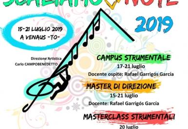 Rafa Garrigós imparte el curso de dirección y dirige el campus Scaliamo Le Note en Italia